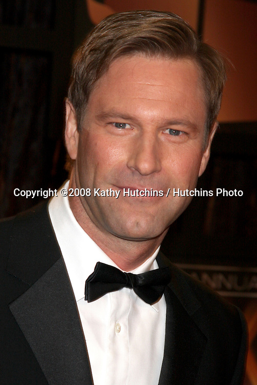 Aaron Eckhart arriving at the  Critic's Choice Awards at the Santa Monica Civic Center, in Santa Monica , CA on .January 8, 2009.©2008 Kathy Hutchins / Hutchins Photo..                .