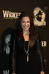 "Lindsay Mendez ""Elphaba"" - Wicked - current cast - The blockbuster musical, Wicked, celebrates its 10th Anniversary on Broadway, a milestone achieved by only ten other Broadway productions in history on October 30, 2013 at the Gershwin Theatre, New York City followed by the red carpet at the Edison Ballroom with current, alumni and creative team.  (Photo by Sue Coflin/Max Photos)"