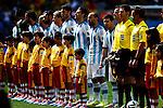 Argentina team group (ARG), JULY 5, 2014 - Football / Soccer : FIFA World Cup Brazil 2014 Quarter-finals match between Argentina 1-0 Belgium at Estadio Nacional in Brasilia, Brazil. (Photo by D.Nakashima/AFLO)
