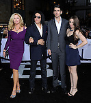 "Gene Simmons, Shannon Tweed and family at the LA. premiere of ""Oblivion"" held at the Dolby Theatre in Los Angeles, CA. on April 10, 2013"