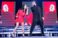 Spanish Singer Miguel Bose in collaboration with mexican singer Ximena Sari&ntilde;ana during the first stop of his tour 'Estar&eacute;' at Wizink Center in Madrid, June 23, 2017. Spain.<br /> (ALTERPHOTOS/BorjaB.Hojas) (NortePhoto.com) (NortePhoto.com)