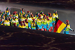 Olympic team of Germany during the parade of nations at the Opening ceremony of the 2014 Sochi Olympic Winter Games at Fisht Olympic Stadium on February 7, 2014 in Sochi, Russia. Photo by Victor Fraile / Power Sport Images