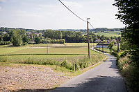 the Ladeuze climb in Maarkedal<br /> <br /> cycling hotspots & impressions in the Vlaamse Ardennen (Flemish Ardennes) along the 181km Spartacus (Chasing Cancellara) cycling route<br /> <br /> Cycling In Flanders <br /> Flanders Tourist Board<br /> <br /> ©kramon