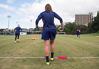 Honolulu, HI - December 3, 2015:  The USWNT trained in preparation for their game against Trinidad & Tobago during the Victory Tour.