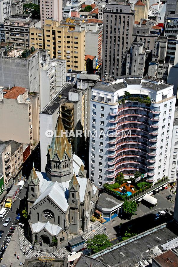 Igreja de Santa Cecília. São Paulo. 2008. Foto de Juca Martins.