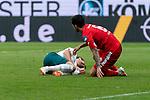 Niclas Füllkrug / Fuellkrug (Werder Bremen #11), Danny Latza (FSV Mainz 05 #06)<br /> <br /> <br /> Sport: nphgm001: Fussball: 1. Bundesliga: Saison 19/20: 33. Spieltag: 1. FSV Mainz 05 vs SV Werder Bremen 20.06.2020<br /> <br /> Foto: gumzmedia/nordphoto/POOL <br /> <br /> DFL regulations prohibit any use of photographs as image sequences and/or quasi-video.<br /> EDITORIAL USE ONLY<br /> National and international News-Agencies OUT.