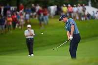 Webb Simpson (USA) chips on to 1 during Rd4 of the 2019 BMW Championship, Medinah Golf Club, Chicago, Illinois, USA. 8/18/2019.<br /> Picture Ken Murray / Golffile.ie<br /> <br /> All photo usage must carry mandatory copyright credit (© Golffile | Ken Murray)