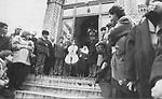 Mstislav Rostropovich at the funeral of Andrei Tarkovsky. Paris. 1987 year. | Мстислав Ростропович на похоронах Андрея Тарковского. Париж. 1987 год.
