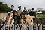 The Killarney Asylum Seeker Initiative are busy preparing their spring garden after receiving a major funding boost this week. .Back L-R  Luay Raddam, Eric Nsimba-Bitabubi, Malkhaz Gedeshuri and Farhad Faraj.Front L-R  Alice Foley, Charlotte Darko and Olumfemi Bukla