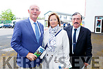 Pat, Ann and Mike Kiely from Tarbert attending the Listowel Races on Sunday.