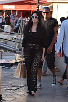 Cher goes shopping in St. Tropez - France
