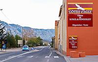 Cotes d'Agly St Paul de Fenouillet. Fenouilledes. Roussillon. France. Europe.