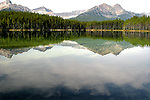 HERBERT LAKE, BANFF NATIONAL PARK, ALBERTA,CANADA