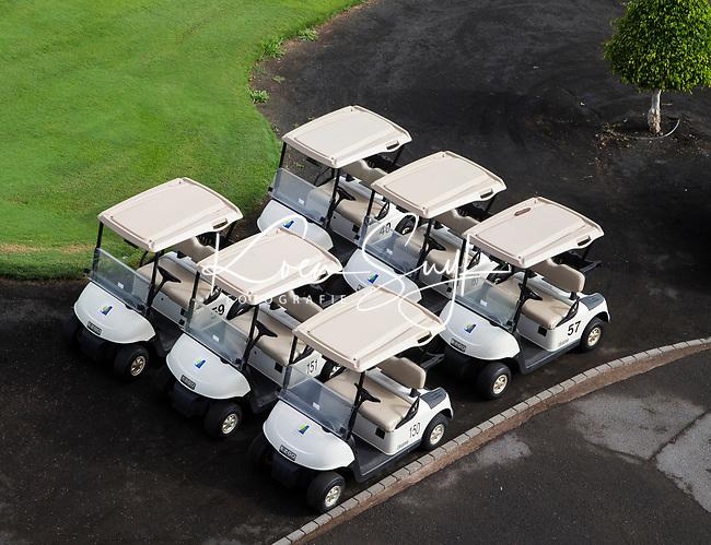 TENERIFE - buggy , wachten wachttijd, golfcar, COSTA ADEJE GOLF. COPYRIGHT KOEN SUYK