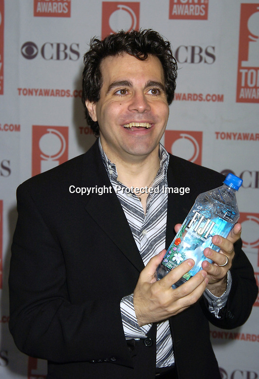 Mario Cantone ..at The 2005 Tony Awards Nominees Meet the Press Reception on May 11, 2005 at The Marriott Marquis Hotel. ..Photo by Robin Platzer, Twin Images