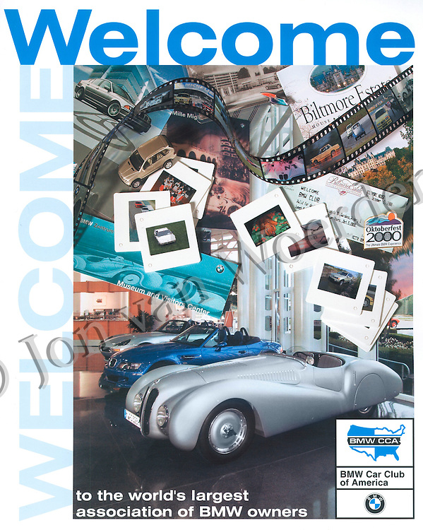 BMW CCA Roundel Magzine cover photography by Jon van Woerden