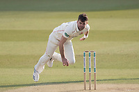 James Anderson of Lancashire CCC follows through during Middlesex CCC vs Lancashire CCC, Specsavers County Championship Division 2 Cricket at Lord's Cricket Ground on 13th April 2019