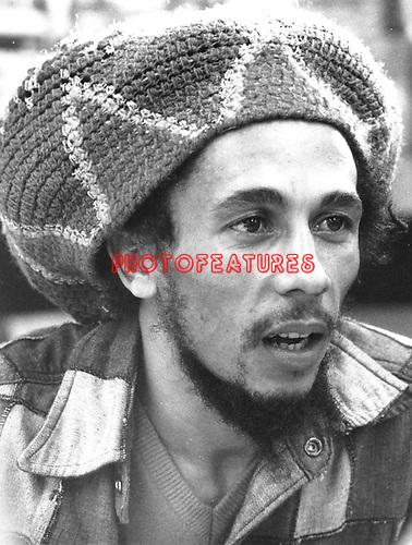Bob Marley 1979 at Tower Records..© Chris Walter..
