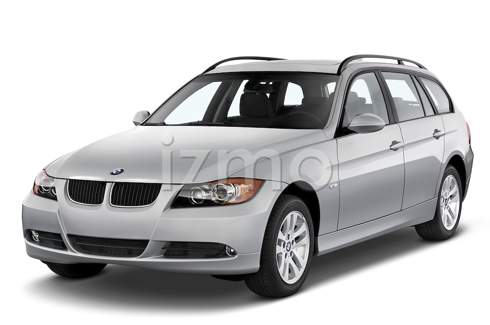 Front three quarter view of a 2005 - 2008 BMW 3-Series 328i Wagon.
