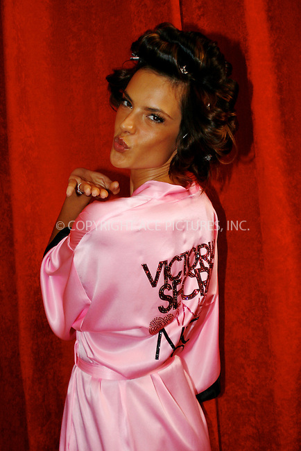 WWW.ACEPIXS.COM . . . . .  ....November 10 2010, New york City....Alessandra Ambrosio has hair and make up done prior to the 2010  Victoria's Secret runway show at the Lexington Armoury on November 10 2010 in New York City....Please byline: NANCY RIVERA- ACEPIXS.COM.... *** ***..Ace Pictures, Inc:  ..Tel: 646 769 0430..e-mail: info@acepixs.com..web: http://www.acepixs.com