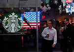 Starbucks to open another 1500 cafes in the US  New York, United States. 05/12/2012. Photo by Kena Betancur/VIEWpress.