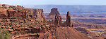The bizarre landscape of Canyonlands National Park, Utah, USA
