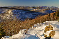 Sunset view from Hadley Mt in The Adirondack Mountains of New York State