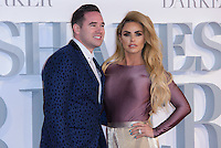 www.acepixs.com<br /> <br /> February 9 2017, London<br /> <br /> Kieran Hayler  and Katie Price arriving at the UK Premiere of 'Fifty Shades Darker' at the Odeon Leicester Square on February 9, 2017 in London, United Kingdom. <br /> <br /> By Line: Famous/ACE Pictures<br /> <br /> <br /> ACE Pictures Inc<br /> Tel: 6467670430<br /> Email: info@acepixs.com<br /> www.acepixs.com