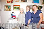 ADMIRING: Members from ICA groups around the county admired each others work during an art and craft exhibition in the Ashe Memorial Hall on Monday afternoon. From l-r were Phil Hussey, Joann Lenehan and Collette Dalton.