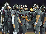 Torrance, CA 09/19/15 - Ryan Carroll (Torrance #2), Juan Mosquera (Torrance #71), Jeffrey Saks (Torrance #75) and unidentified Torrance player(s) in action during the Peninsula Panthers - Torrance Tartars Varsity football game at Torrance High School