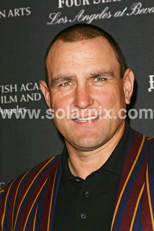 **ALL ROUND PICTURES FROM SOLARPIX.COM**                                             **SYNDICATION RIGHTS FOR UK, AUSTRALIA, DENMARK, PORTUGAL, S. AFRICA, SPAIN & DUBAI (U.A.E) & ASIA (EXCLUDING JAPAN) ONLY**                                                                                   2011 BAFTA Los Angeles Award Season Tea Party arrivals at Four Seasons Hotel Los Angeles, USA.                                                                         This pic:    Vinnie Jones                                                                                         JOB REF:    12670  PHZ/Charlotte       DATE: 15.01.11                                                       **MUST CREDIT SOLARPIX.COM OR DOUBLE FEE WILL BE CHARGED**                                                                      **MUST AGREE FEE BEFORE ONLINE USAGE**                               **CALL US ON: +34 952 811 768 or LOW RATE FROM UK 0844 617 7637**