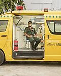 Sajid Ali, EMT, Aman Ambulance Services