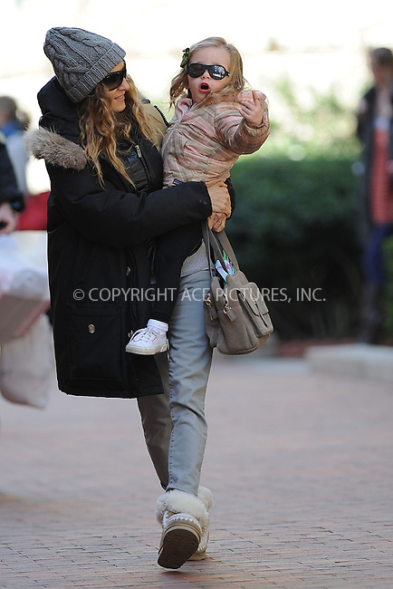 WWW.ACEPIXS.COM . . . . . .March 27, 2012...New York City....Sarah Jessica Parker picks up twins at school on March 27, 2012  in New York City ....Please byline: KRISTIN CALLAHAN - ACEPIXS.COM.. . . . . . ..Ace Pictures, Inc: ..tel: (212) 243 8787 or (646) 769 0430..e-mail: info@acepixs.com..web: http://www.acepixs.com .