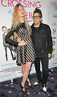 Tamara Orlova-Alvarez and Joe Alvarez at the &quot;Crossing Over&quot; UK film premiere, Cineworld West India Quay, Hertsmere Road, London, England, UK, on Sunday 06 August 2017.<br /> CAP/CAN<br /> &copy;CAN/Capital Pictures