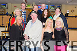 Celebrating A 50th Birthday are the staff from Killarney Community College at the Kingdom Greyhound Stadium on Friday.In the picture are Kerry McCarthy, John Keane (Birthday Boy), Stacey O Leary, Denise O Sullivan, Martina Hagerty, Mike Lynch, Lorraine Cosgrave, Maureen O Sullivan, Kieran Gallagher and Sean O Connell.