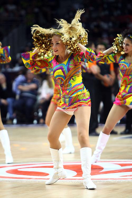 Turkish Airlines Euroleague Final Four - Madrid 2015.<br /> CSKA Moscow vs Olympiacos Piraeus: 68-70.<br /> Alba Dancers.