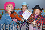 YEEE HAAW: Preparing for the Barn Dance on Friday night next in aid of Milltown Childcare Centre, l-r: Margaret Mary McHugh, Katie Clarke, Kena Felle.