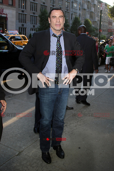 June 27, 2012:  John Travolta at the special screening of Universal Pictures' Savages at the SVA Theater in New York City. &copy; RW/MediaPunch Inc. /*NORTEPHOTO.COM*<br />