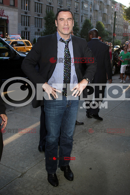 June 27, 2012:  John Travolta at the special screening of Universal Pictures' Savages at the SVA Theater in New York City. &copy; RW/MediaPunch Inc. /*NORTEPHOTO.COM*<br /> **SOLO*VENTA*EN*MEXICO** **CREDITO*OBLIGATORIO** *No*Venta*A*Terceros* *No*Sale*So*third* *** No Se Permite Hacer Archivo** *No*Sale*So*third*