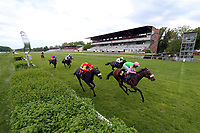 10.05.2020, Hoppegarten, Brandenburg, Germany;  Rubaiyat with Andrasch Starke up wins the Dr Busch Memorial, which, because of the corona pandemic was without spectators