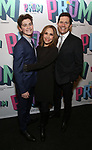 "Hudson Flynn, Andrea burns and Peter Flynn Attends the Broadway Opening Night of ""The Prom"" at The Longacre Theatre on November 15, 2018 in New York City."