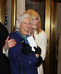 One Life To Live Judith Light poses with Frances Sternhagen at The opening Night of Broadway's Gore Vidal's The Best Man on April 1, 2012 at the Gerald Schoenfeld Theatre, New York City, New York. (Photo by Sue Coflin/Max Photos)
