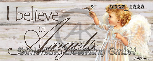 Dona Gelsinger, CHILDREN, KINDER, NIÑOS, paintings+++++,USGE1828,#k#, EVERYDAY,angel