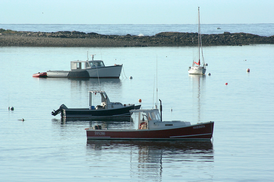Cape Porpoise Maine boats in harbor