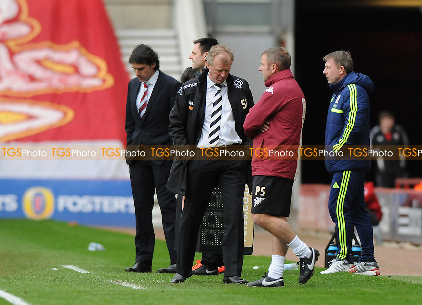Derby County manager Steve McClaren - Middlesbrough vs Derby County - Sky Bet Championship Football at the Riverside Stadium, Middlesbrough - 05/04/14 - MANDATORY CREDIT: Steven White/TGSPHOTO - Self billing applies where appropriate - 0845 094 6026 - contact@tgsphoto.co.uk - NO UNPAID USE