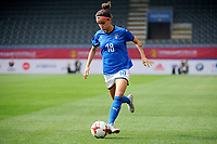 20180904 - LEUVEN , BELGIUM : BARBARA BONANSEA  pictured during the female soccer game between the Belgian Red Flames and Italy , the 8th and last game in the qualificaton for the World Championship qualification round in group 6 for France 2019, Tuesday 4 th September 2018 at OHL Stadion Den Dreef in Leuven , Belgium. PHOTO SPORTPIX.BE | STIJN AUDOOREN