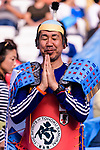 Fans of Japan cheers during the AFC Asian Cup UAE 2019 Quarter Finals match between Vietnam (VIE) and Japan (JPN) at Al Maktoum Stadium on 24 January 2019 in Dubai, United Arab Emirates. Photo by Marcio Rodrigo Machado / Power Sport Images