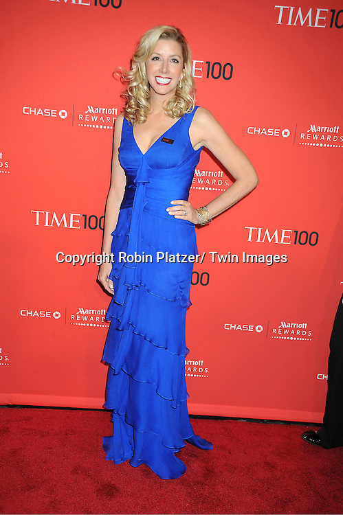 honoree Sara Blakely attends The Time 100 Most Influential People in the World Gala on April 24, 2012 at Frederick P Rose Hall at Lincoln Center in New York City. .