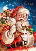Weihnachtsmänner, Papá Noel, Weihnachten, Navidad, illustrations, pinturas klassisch, clásico