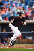 Quad Cities River Bandits third baseman Bobby Wernes (13) during a game against the Burlington Bees on May 9, 2016 at Modern Woodmen Park in Davenport, Iowa.  Quad Cities defeated Burlington 12-4.  (Mike Janes/Four Seam Images)